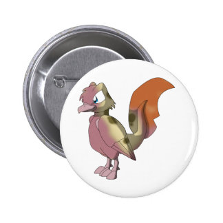 Koi Reptilian Bird - Mixed Breed 1 Buttons