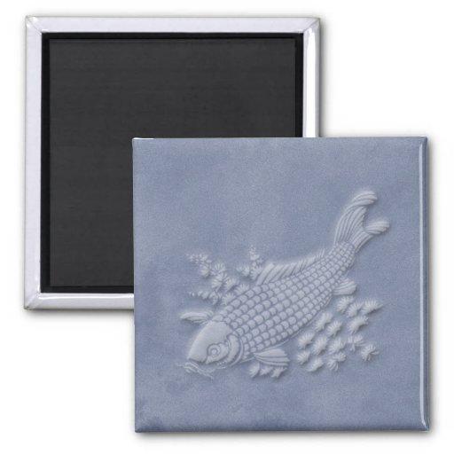 koi square magnet