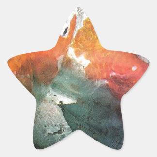 Koi Star Stickers