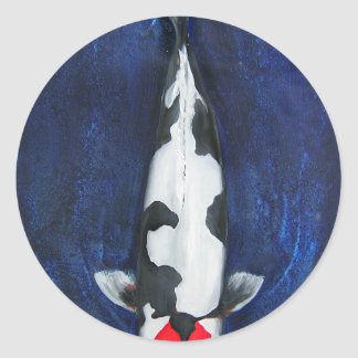 Koi Round Stickers