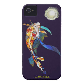 Koi with A Pearl Planet Fantasy Barely There Case-Mate iPhone 4 Case