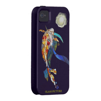 Koi with A Pearl Planet Fantasy Tough Cover iPhone 4/4S Cases