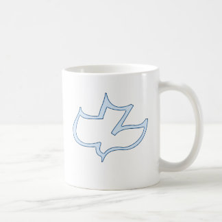 Koinonia Calvary Chapel Hannover (light blue) Basic White Mug