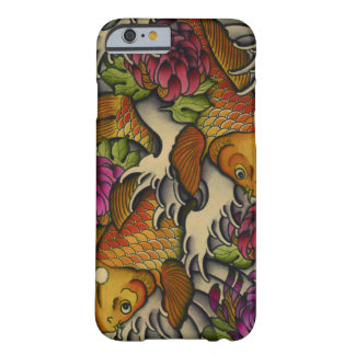 Kois and Chrysanthemums Barely There iPhone 6 Case