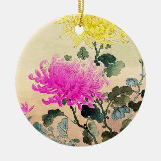 Koitsu Tsuchiya Chrysanthemum japanese flowers art Christmas Ornament