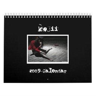kojii 2009 Calendar