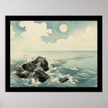Kojima Island (black) Print