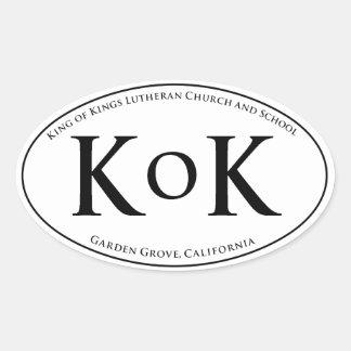 KoK Car Window Sticker