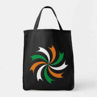 Kokarde cockade Ireland Irish country Eire Grocery Tote Bag