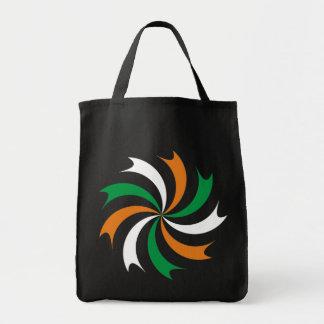 Kokarde cockade Ireland Irish country Eire Grocery Tote Bag
