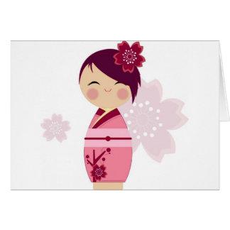 Kokeshi Card