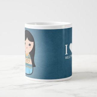 Kokeshi Doll - Bellydancer Extra Large Mugs