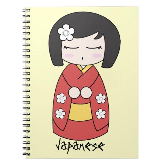 Kokeshi Doll Notebook
