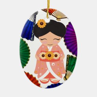 Kokeshi Doll - SRF Christmas Ornament