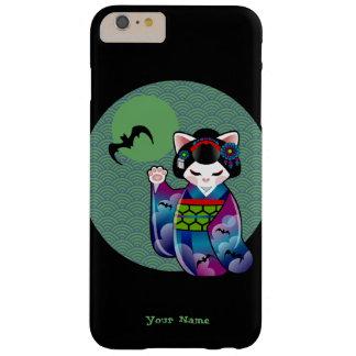 Kokeshi Maneki Neko Japanese Lucky Cat Halloween Barely There iPhone 6 Plus Case
