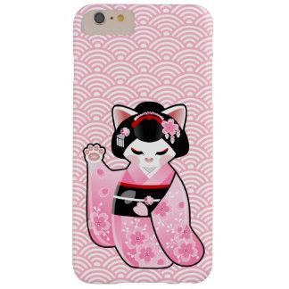 Kokeshi Maneki Neko Japanese Lucky Cat Maiko Barely There iPhone 6 Plus Case
