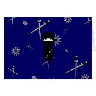 Kokeshi Ninja Card