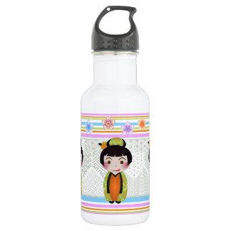 kokeshi noshi 532 ml water bottle