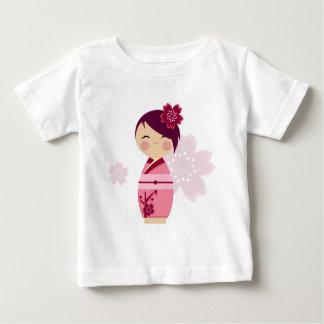 Kokeshi Sakura Baby Tee