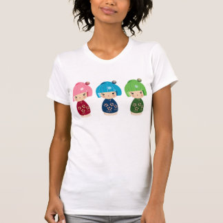 Kokeshi Triplets T-Shirt