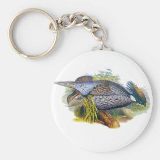 Koklass Pheasant Basic Round Button Key Ring