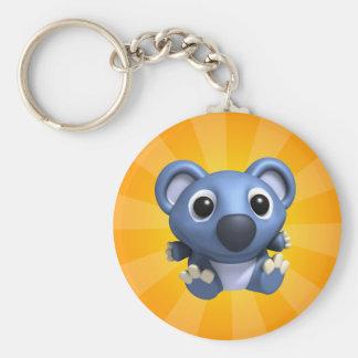 KoKo Basic Round Button Key Ring