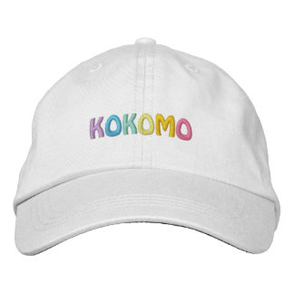 KOKOMO cap (adjustable fit) Embroidered Hats