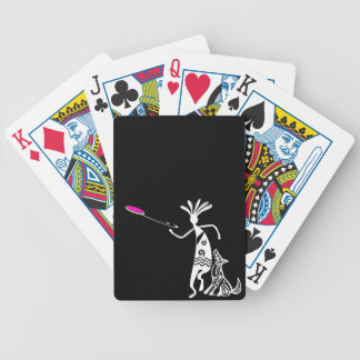 Kokopelli and Dog Bicycle Card Deck