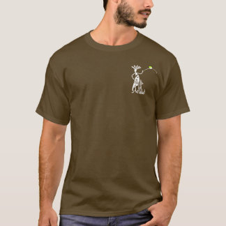 Kokopelli and Dog T-Shirt