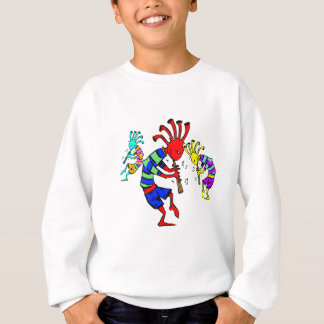 Kokopelli Art Music Trio Sweatshirt