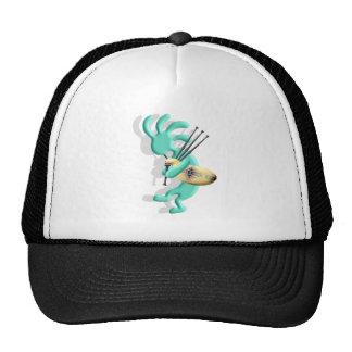 Kokopelli Bagpipes Cap