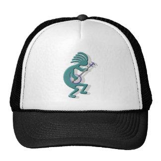 Kokopelli Banjo Cap