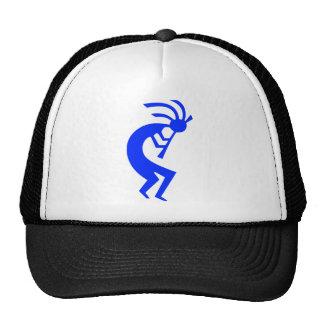 Kokopelli Blue Cap