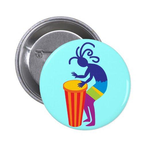 Kokopelli Button Pinback Button
