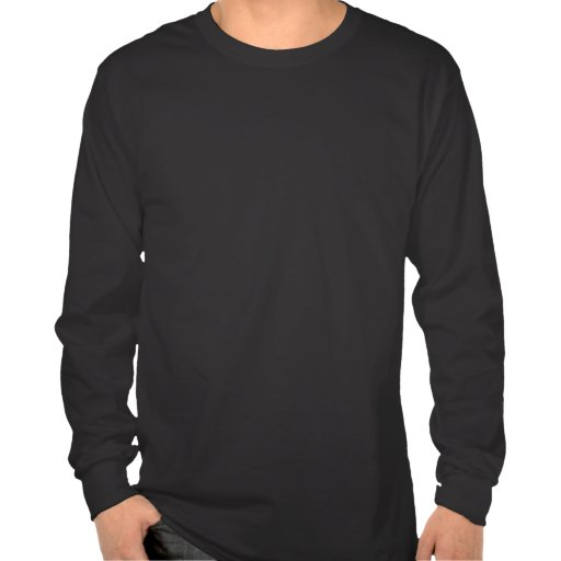 Kokopelli Christmas Mens Long Sleeve Black T-shirt