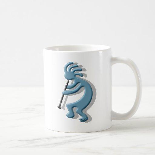 Kokopelli Clarinet Coffee Mug