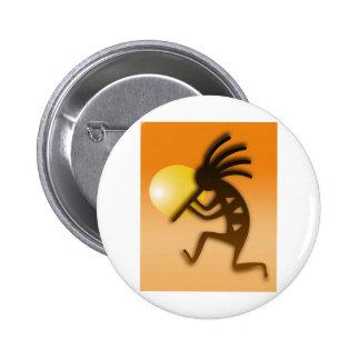 Kokopelli Dance Buttons