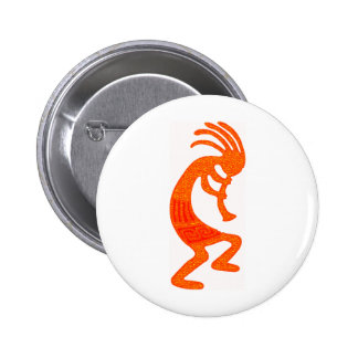 Kokopelli Dream 6 Cm Round Badge