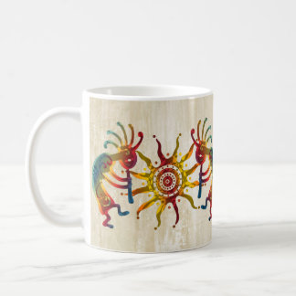 KOKOPELLI DUO SUN + your ideas Coffee Mug