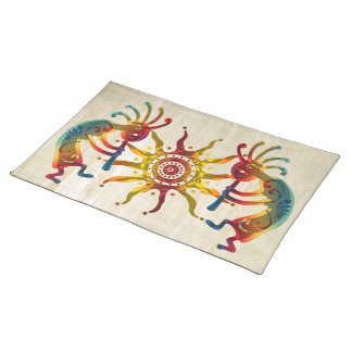 KOKOPELLI DUO SUN + your ideas Placemat