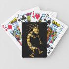Kokopelli emoji art magical icons bicycle playing cards