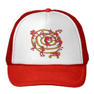 Kokopelli: Fiery Dance - Hat #2