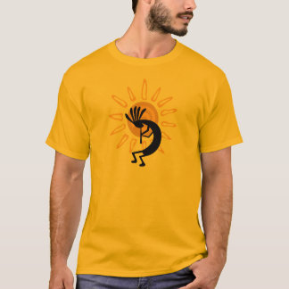 Kokopelli Gold Mens Tshirt