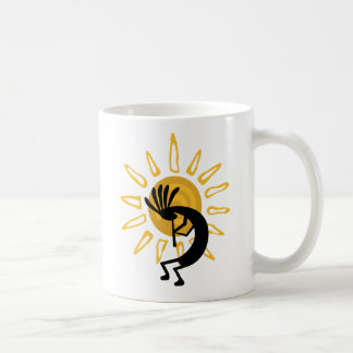 Kokopelli  Gold Mugs