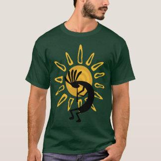Kokopelli  Gold Tee Shirt