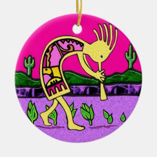 Kokopelli Good Luck Ornament