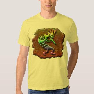 Kokopelli Hopi flute player t shirt