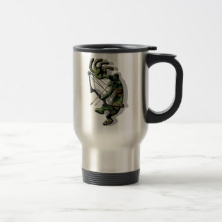 Kokopelli Hunter Travel Mug