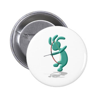 Kokopelli Kids Archery 6 Cm Round Badge