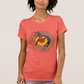 Kokopelli Lizard Sun T-Shirt